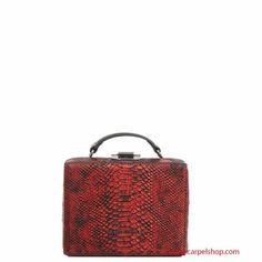 Trussardi Jeans Mini Bag rigida colore Rosso