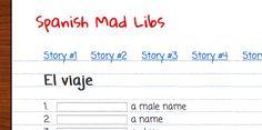 Teaching Spanish w/ Comprehensible Input: Spanish MadLibs