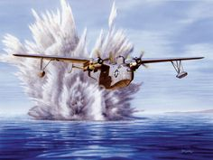 P Boat: One, U Boat: Nothing by Don Feight Martin Flying Boat.