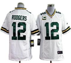 681c4830885 Nike Packers Aaron Rodgers White Mens NFL Game Jersey And Aqib Talib 21  jersey