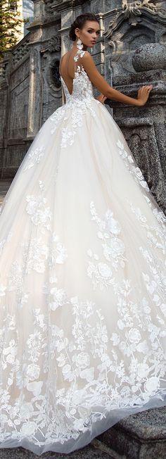 Wedding Dress by Milla Nova White Desire 2017 Bridal Collection - Milena