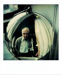 Self-portrait (Polaroid serie) (c) André Kertész