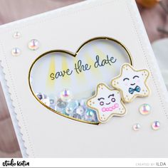 138 Likes, 1 Comments - Studio Katia Shaker Cards, Save The Date Cards, Destination Wedding, Card Making, Dating, How To Plan, Studio, Cute, Blog