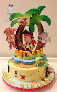Delectable Delites: Jake and the Neverland Pirates theme for Aidan's 4th birthday