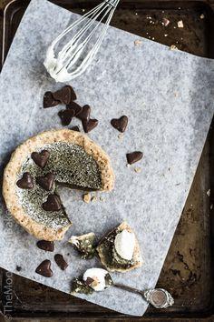 NEW: Green tea Sponge pie on the Moonblush Baker