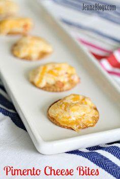 Jenna's Journey: Pimento Cheese Bites