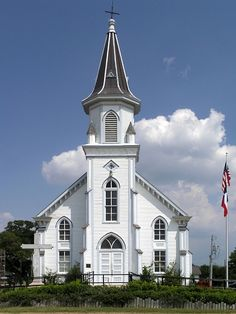 church in Dubina, Texas