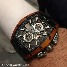 What's On Your Wrist?: Photo – Men's Watches from Top Brands Amazing Watches, Best Watches For Men, Luxury Watches For Men, Beautiful Watches, Cool Watches, Rolex Watches, Dream Watches, Sport Watches, Skeleton Watches