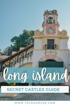Castles? Check out these photography gems in Long Island, New York. Historic castles, mansions and estates springled around the Gold Coast. #NY #NewYorkTravelGuide #USTravel #History | What to do in Long Island | Things to do in New York | New York Vacations New York Travel Guide, Sparkling Waters, New York Vacation, Visiting Nyc, Long Island Ny, The Perfect Getaway, 50 States, Gold Coast, Us Travel
