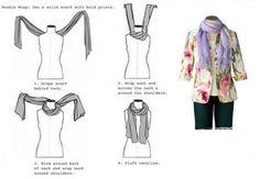 Esse jeito de amarrar também é fácil. Foto/Pinterest 9GAG