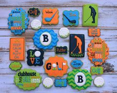Golf Cookies | Cookie Connection