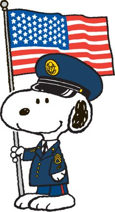 Snoopy honors all Service Men and Women and Veterans. Thank You to all.