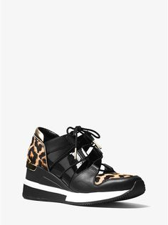 Beckett Calf Hair and Leather Sneaker