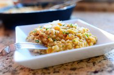 Butternut Squash Risotto with parmesan and parsley - by Ree Drummond / The Pioneer Woman