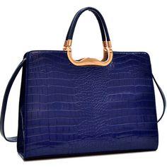 Briefcase Purse with strap... LalasPurses.bigcartel.com