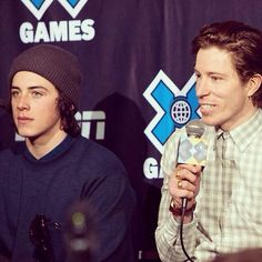 Mark McMorris and Shaun White