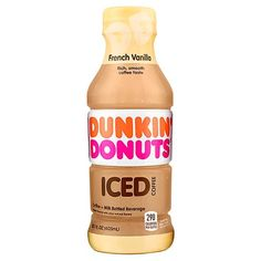 Dunkin' Donuts French Vanilla Iced Coffee, fl oz at Kitchen and Home Products Library - dunkin donuts french vanilla iced coffee 13 7 fl oz bottle Dunkin Iced Coffee, Coffee Drinks, Dunkin Donuts French Vanilla Iced Coffee Recipe, Coffee Cup, Frozen Coffee, Coffee Tasting, Blended Coffee, Coffee Recipes, Drinking Tea