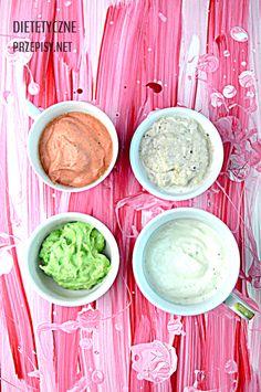 Lekkie dipy jogurtowe – zimne sosy do przekąsek Dips, Guacamole, Party, Mexican, Cooking, Ethnic Recipes, Impreza, Relax, Recipes