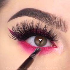 makeup for women: Women's Fashion Cute Eye Makeup, Halloween Eye Makeup, Creative Eye Makeup, Eye Makeup Steps, Makeup Eye Looks, Colorful Eye Makeup, Eye Makeup Art, No Eyeliner Makeup, Makeup Inspo