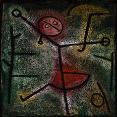 Paul Klee  German, born Switzerland, 1879–1940, Dancing Girl AIC