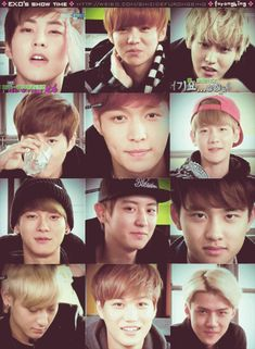 my oppas' winks *dies* | It's funny how there are so many members that can't wink<3