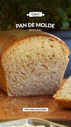 Whole Wheat Milk Bread Loaf Aesthetic Food, Scones, Margarita, Cake Recipes, Bakery, Food And Drink, Bread, Vegan, Cooking
