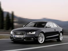 Audi S5 - one of the sexiest cars on the road. Just love this design!