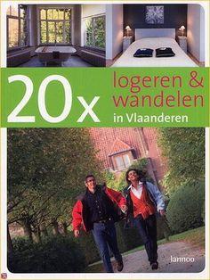"""Selectie boeken """"wandelen in België"""" uit onze catalogus BiB Hoogstraten"""