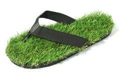 b648f3a8e866dd Groundwalk Grass Flip-flops Sandals (For Men or Women) Flip Flop Socks