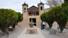 The Sanctuario de Chimayo is on the way to Taos via the scenic High Road.