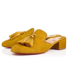 b9ad8055927b Christian Louboutin United States Official Online Boutique - Barry Mule 35  Version Liqueur Suede available online. Discover more Women Shoes by  Christian ...