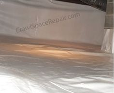 This term was and is widely market by different basement waterproofing franchises in the early part of the century. Crawl space encapsulation has become directly associated with a white vapor barrier installed in the crawl space to cover the floor and walls. #CrawlSpaceEncapsulation