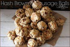 ~Hash Brown & Sausage Balls! | Oh Bite It