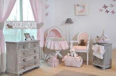 49 meilleures images du tableau Chambre bébé rose et gris ...