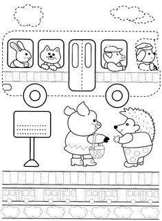 Exercices de traçage pour maternelle