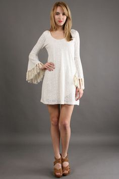 Belle Sleeve Dress