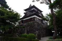 Japanese castles I've visited #56: Maruoka Castle in Fukui Prefecture. This is one of the 12 original castle structures in Japan.