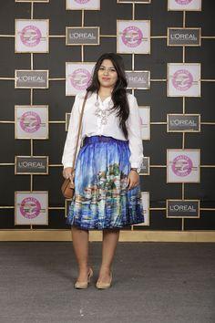 OOTD: Printed Pleated Midi Skirt, Indian Fashion Blog