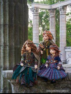 В гостях у сказки... / Интересненькое / Бэйбики. Куклы фото. Одежда для кукол