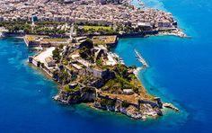 Die alte Festung von Korfu