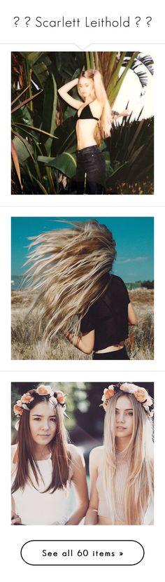 """""""ღ ▬ Scarlett Leithold ▬ ღ"""" by clippe-r ❤ liked on Polyvore featuring scarlett leithold, activewear and brinley co"""