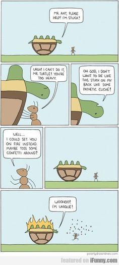 My. Ant, Please Help, I'm Stuck!