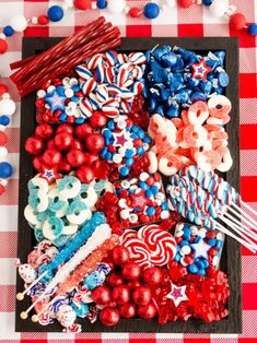 Fourth Of July Decor, 4th Of July Celebration, 4th Of July Party, July 4th, Patriotic Crafts, Patriotic Party, Patriotic Decorations, July Crafts, Party Food Platters