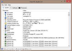 تحميل برنامج التعرف على مواصفات الجهاز Free PC Audit - https://www.arabwebpage.com/free-pc-audit/ - يعد برنامج التعرف على مواصفات الجهاز Free PC Audit هو واحد من ضمن أفضل البرامج التي تستخدم في التعرف على مواصفات النظام وكل ما يحتوي عليه، وهو من ضمن البرامج المجانية التي لا تحتاج إلى تفعيل أو شرا�
