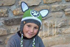 Paw Patrol Rocky-Inspired Hat, Rocky Hat, Paw Patrol Green Hat, Green Pup Hat…