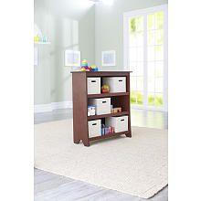 Imaginarium Bookcase with 5 Fabric Bins - Espresso, Babies R Us