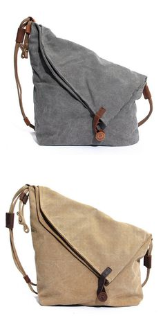 US$41.98 + Free shipping. Women canvas bags, shoulder bags, cowhide casual crossbody bags. Material: Canvas, Cowhide. Colors: Beige, Khaki, Gray, Blue, Purple.