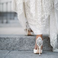 12 Sparkly White Shoe Options for Your Big Day | Brides.com
