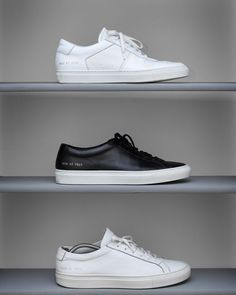 b7c91753fd Men s white leather sneakers Leather Trainers