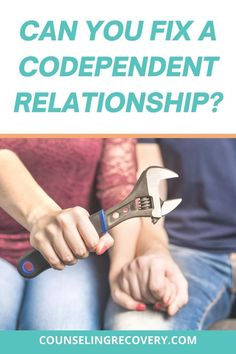 In codependent relationships there is an unhealthy dependency where the codependent person relies too much on others for validation and support. These relationships often fizzle out because of… Relationship Problems, Relationship Advice, Codependency Recovery, Relapse Prevention, Improve Communication, Coping With Stress, Improve Mental Health, Low Self Esteem, Addiction Recovery